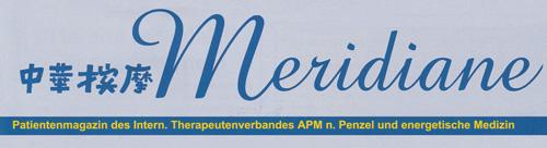 Logo - Zeitschrift Meridiane